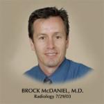 Dr. Brock Gregory Mcdaniel, MD