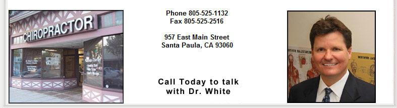 Robert A White, DC Chiropractor