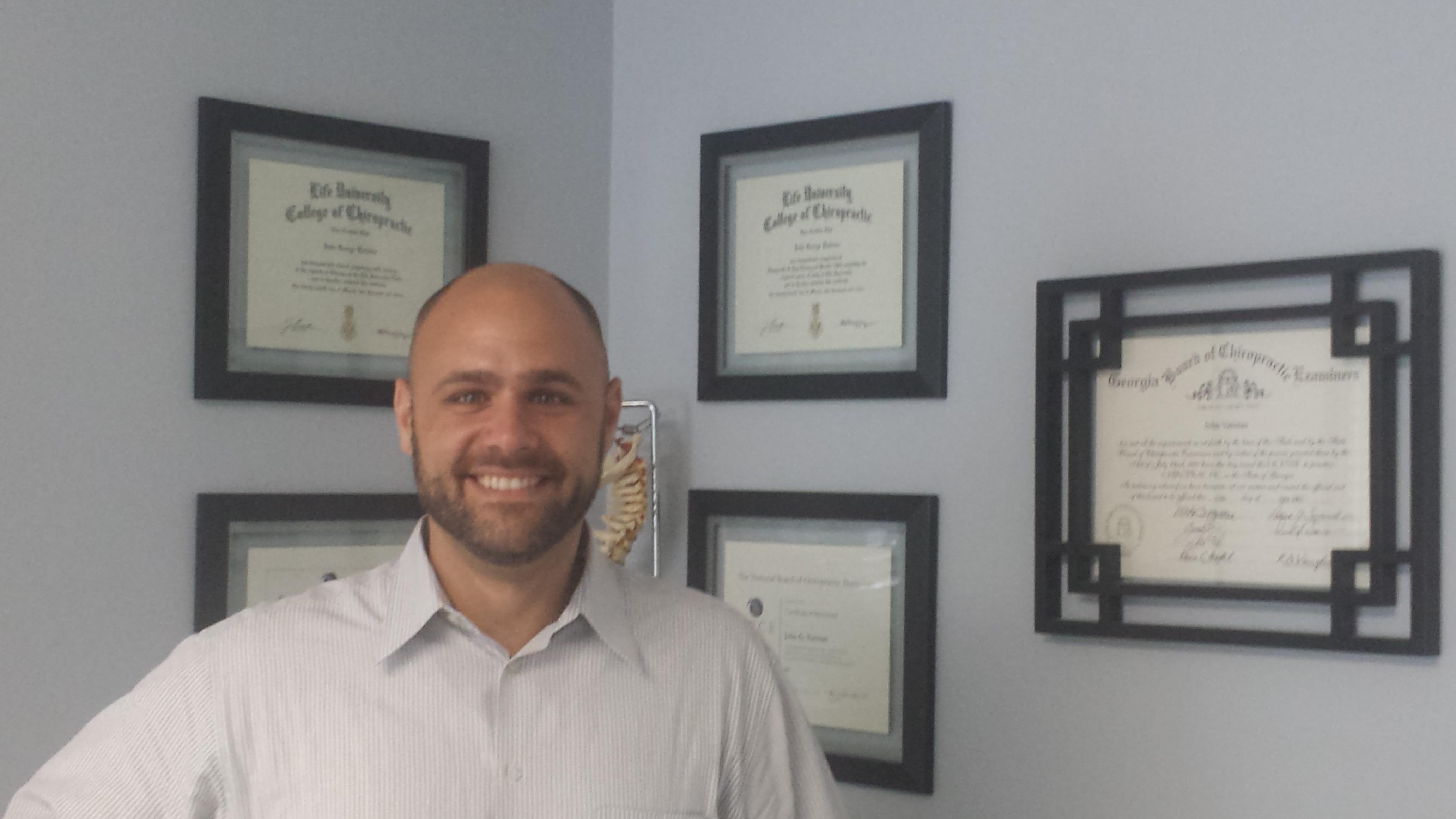 John G Vatistas, DC Chiropractor