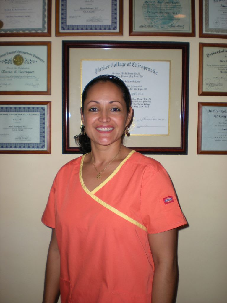Maria E Rodriguez, DC Chiropractor
