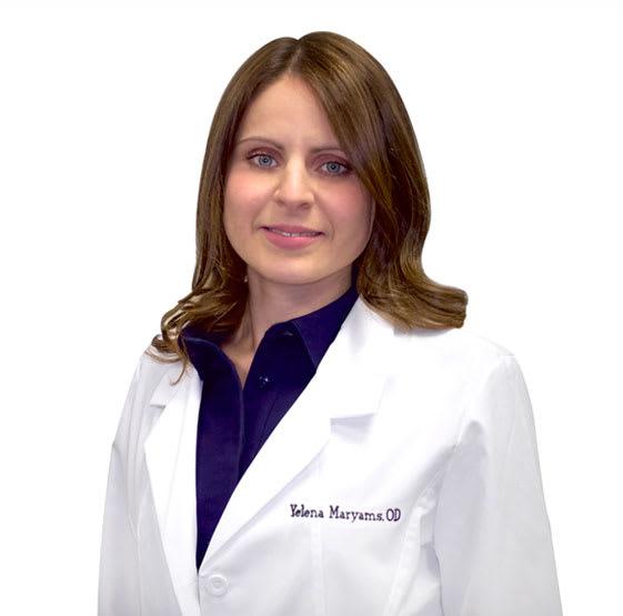 Yelena Maryams, MD Optometry