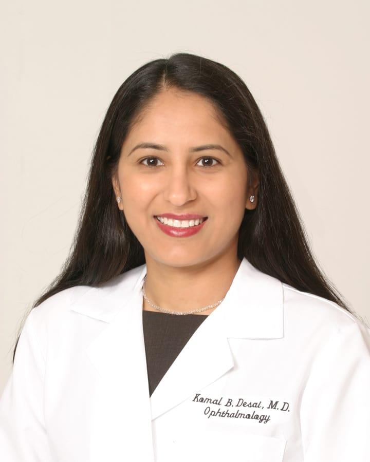 Dr. Komal B Desai MD