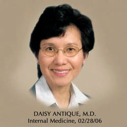 Daisy T Antique, MD Internal Medicine