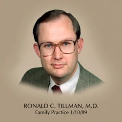 Dr. Ronald C Tillman MD