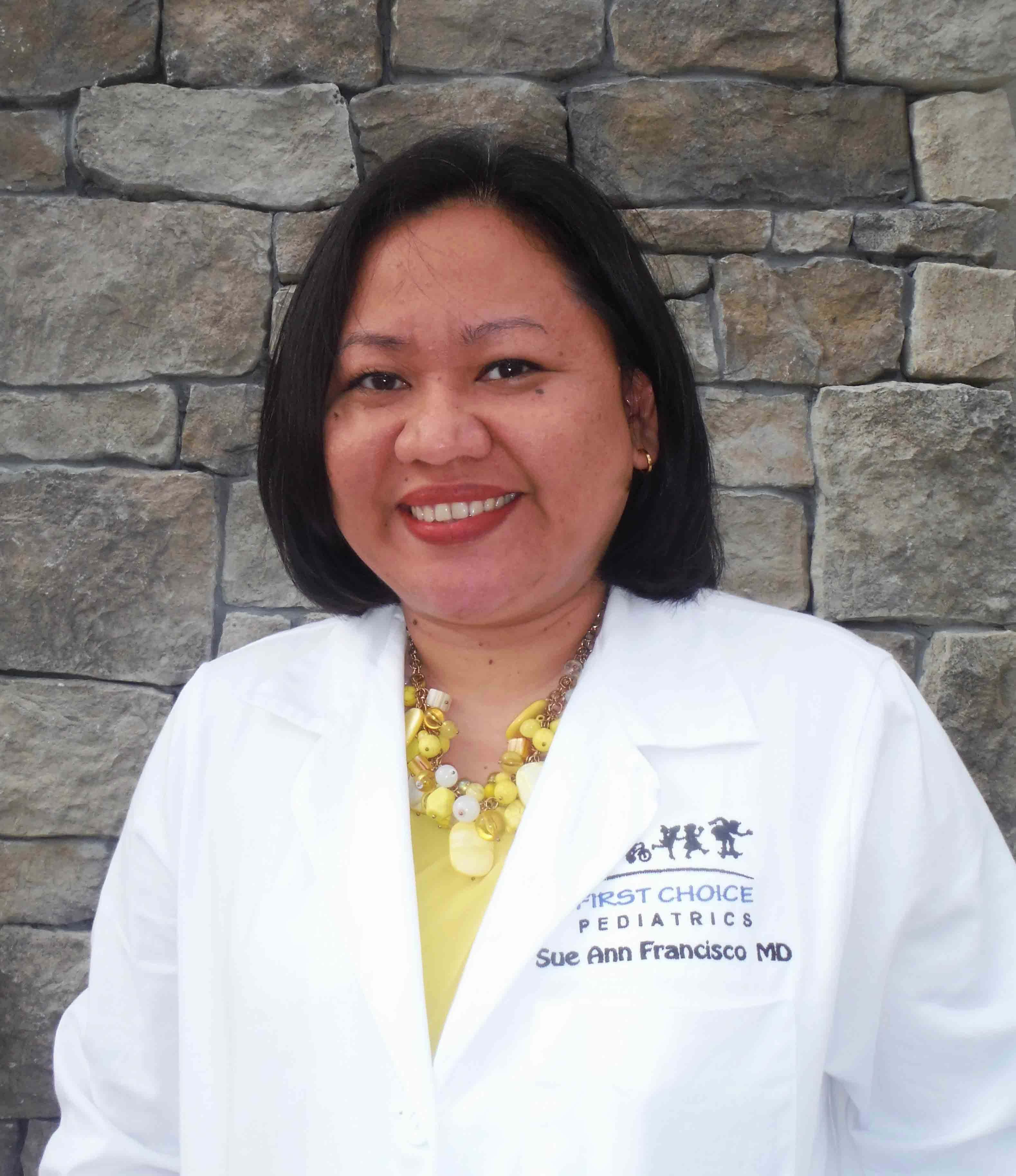 Dr. Sue Ann J Francisco MD