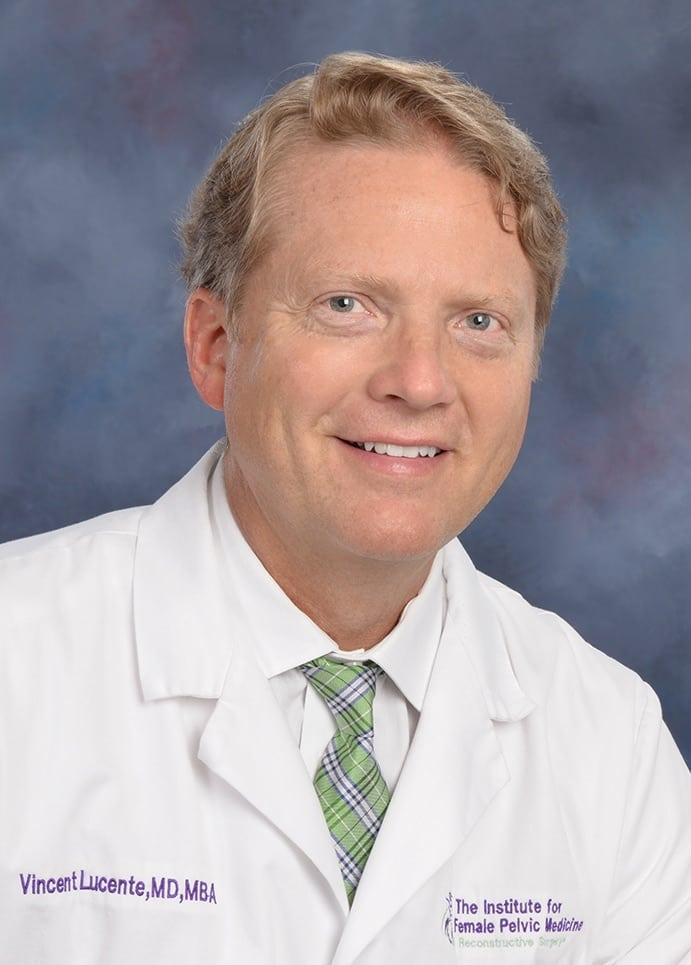 Dr. Vincent R Lucente MD