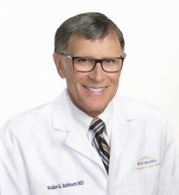 Dr. Walter G Robinson MD