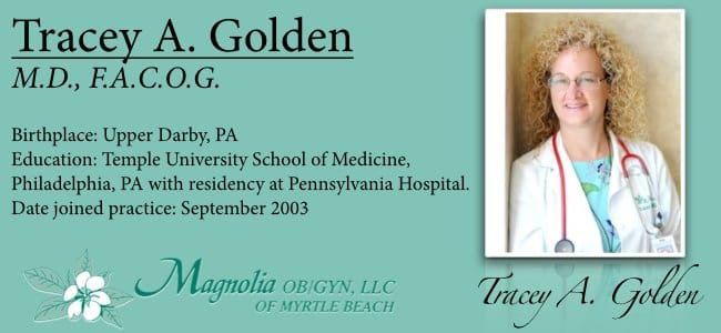Dr. Tracey A Golden MD