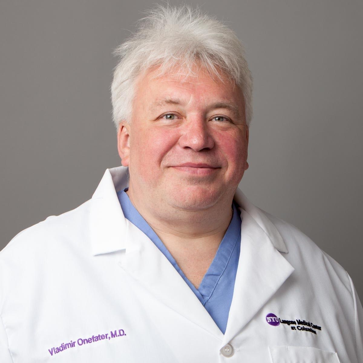 Vladimir S Onefater, MD Physical Medicine & Rehabilitation