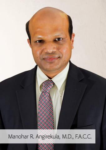 Manohar R Angirekula, MD Cardiovascular Disease