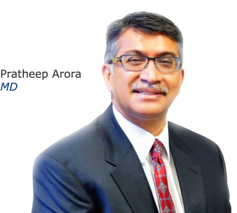 Pratheep Arora, MD Internal Medicine