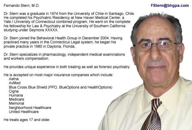Dr. Fernando Stern MD