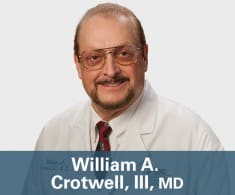 Dr. William A Crotwell MD