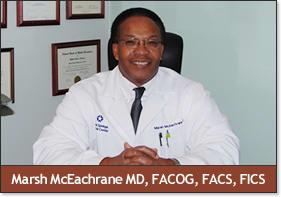 Dr. Marsh R Mceachrane MD
