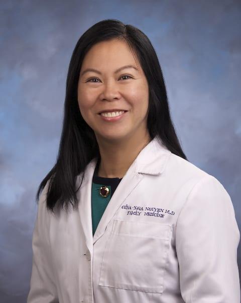 Gina Nga T Nguyen, MD Family Medicine