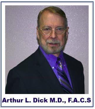 Dr. Arthur L Dick MD