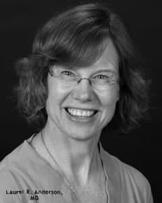 Dr. Laurel R Anderson MD