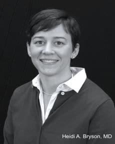 Dr. Heidi A Bryson MD