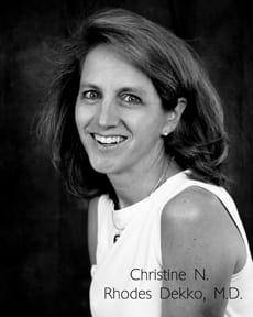 Dr. Christine N Rhodes-Dekko MD