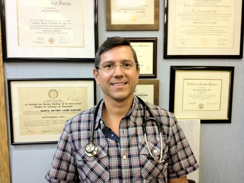 Dr. Marco A Leon MD