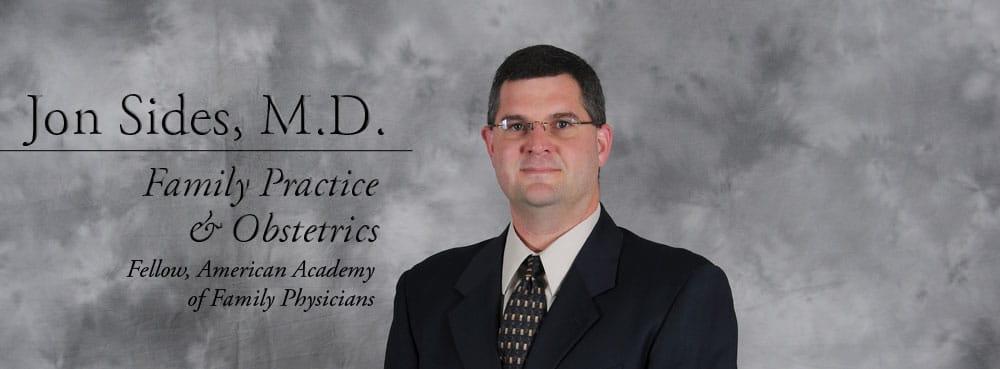Dr. Jon O Sides MD