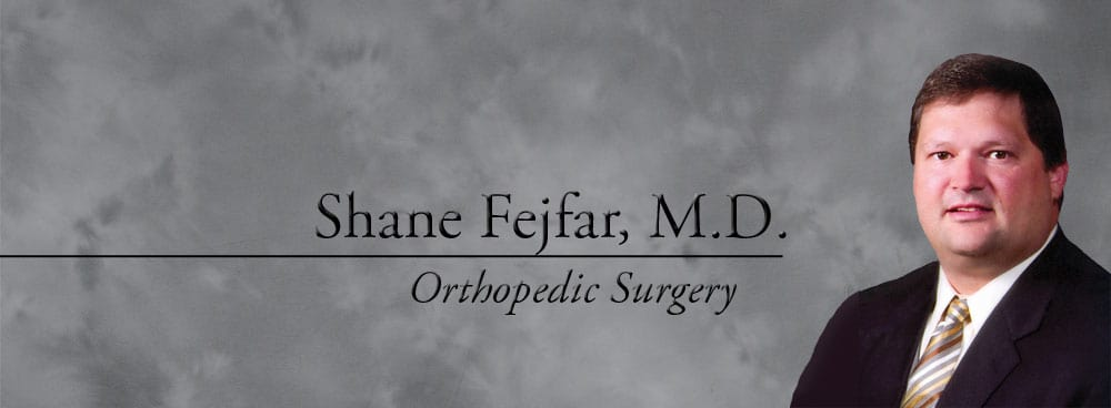 Dr. Shane T Fejfar MD