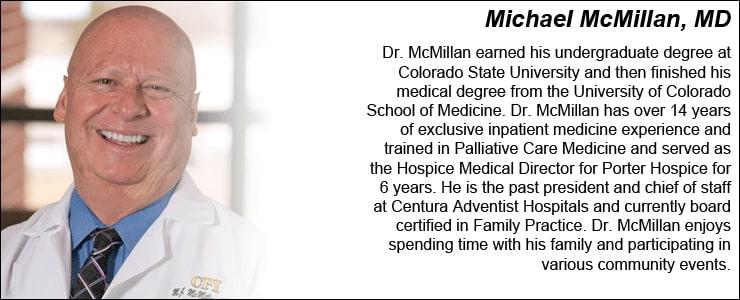 Dr. Michael J Mcmillan MD