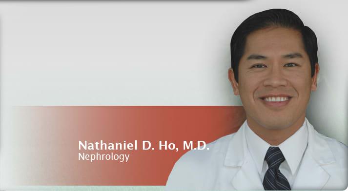Dr. Nathaniel D Ho MD