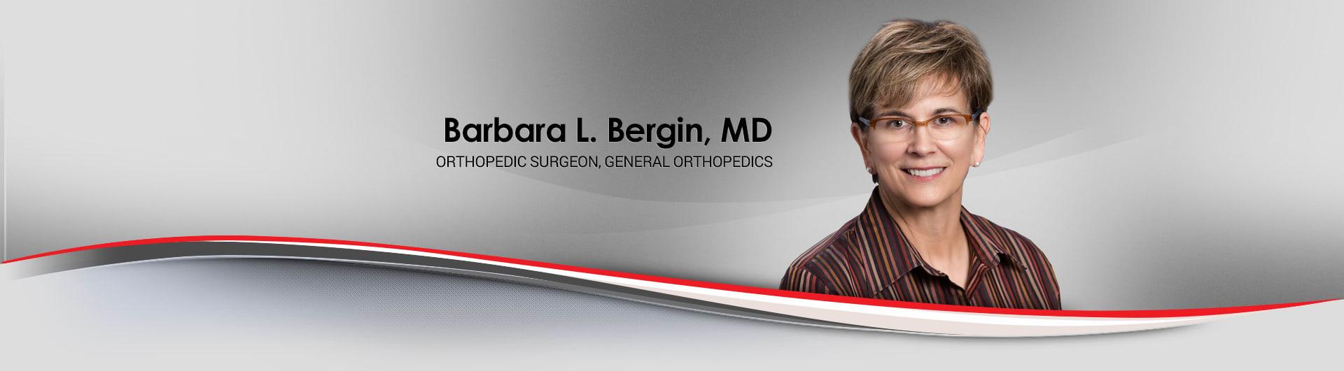 Barbara L Bergin-Nader, MD Orthopaedic Surgery