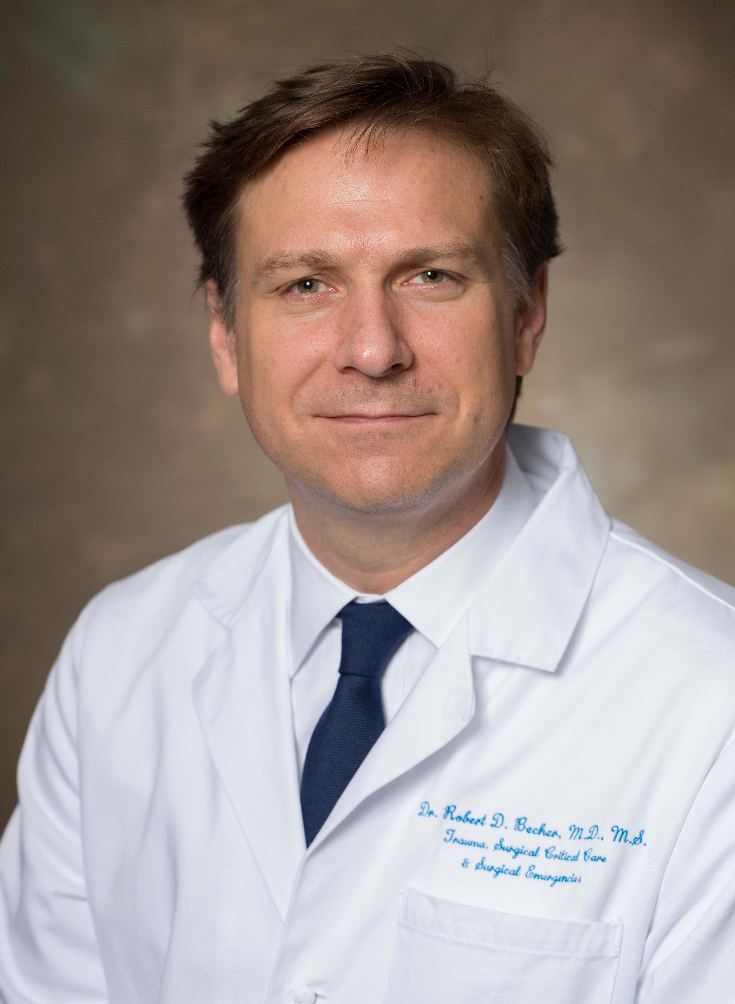 Robert D Becher, MD Anesthesiologist