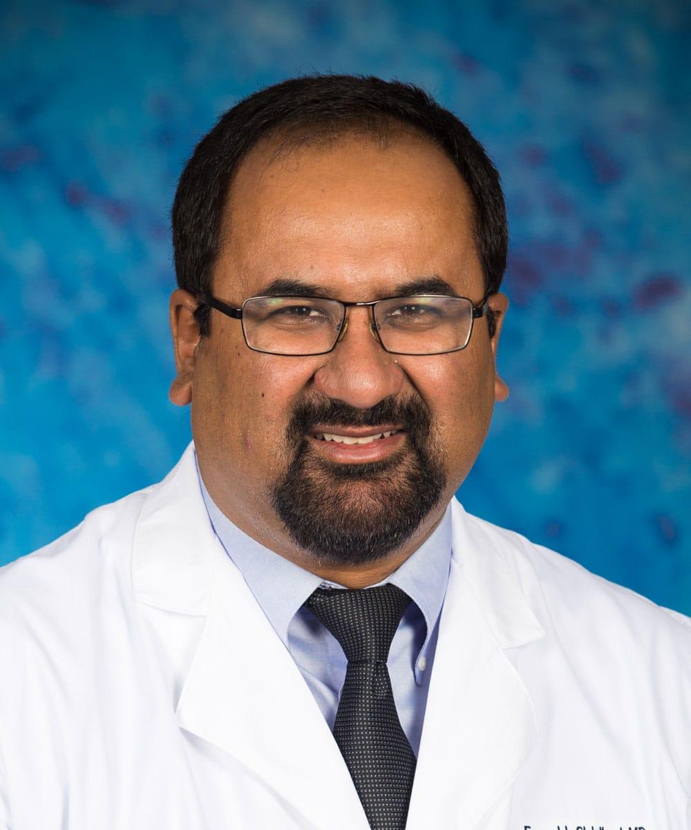 Dr. Farrukh A Siddiqui MD