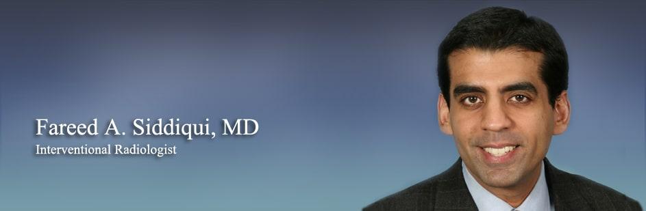 Fareed A Siddiqui, MD Diagnostic Radiology