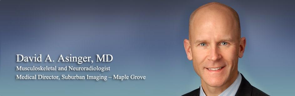 David A Asinger, MD Diagnostic Radiology