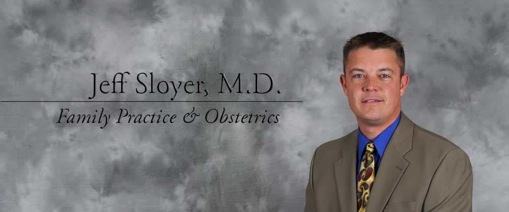 Dr. Jeff M Sloyer MD