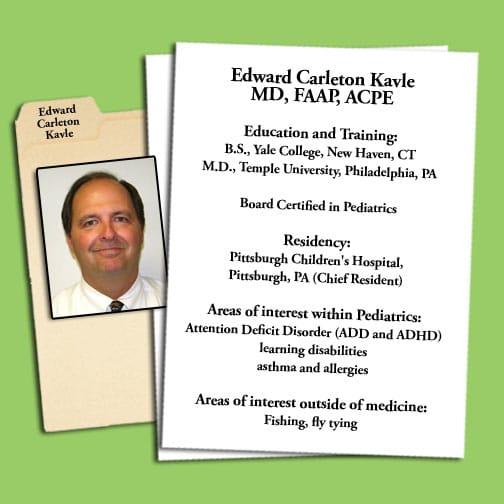 Dr. Edward C Kavle MD