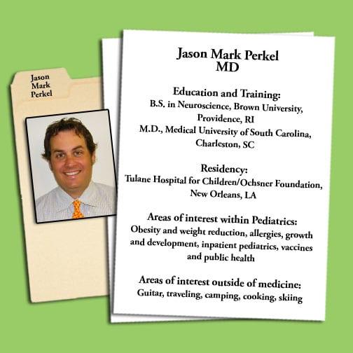 Dr. Jason M Perkel MD