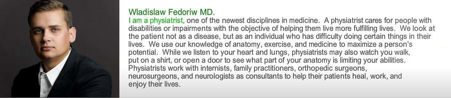 Wladislaw G Fedoriw, MD Anesthesiology