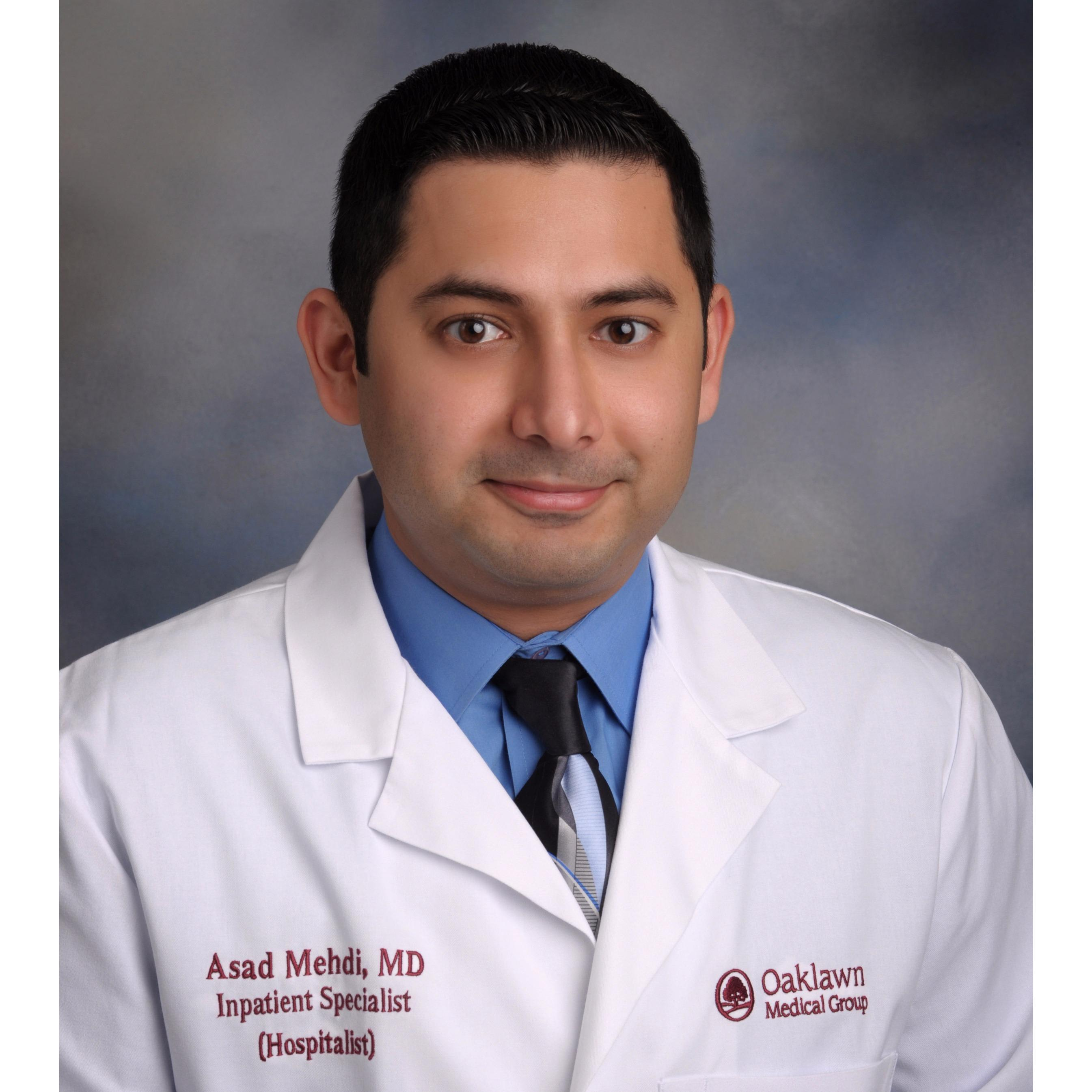 Dr. Asad S Mehdi MD